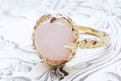 Melty ring<Morganite>